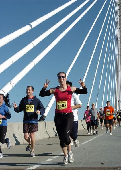 Savannah River Bridge Run, 10K. November 2011