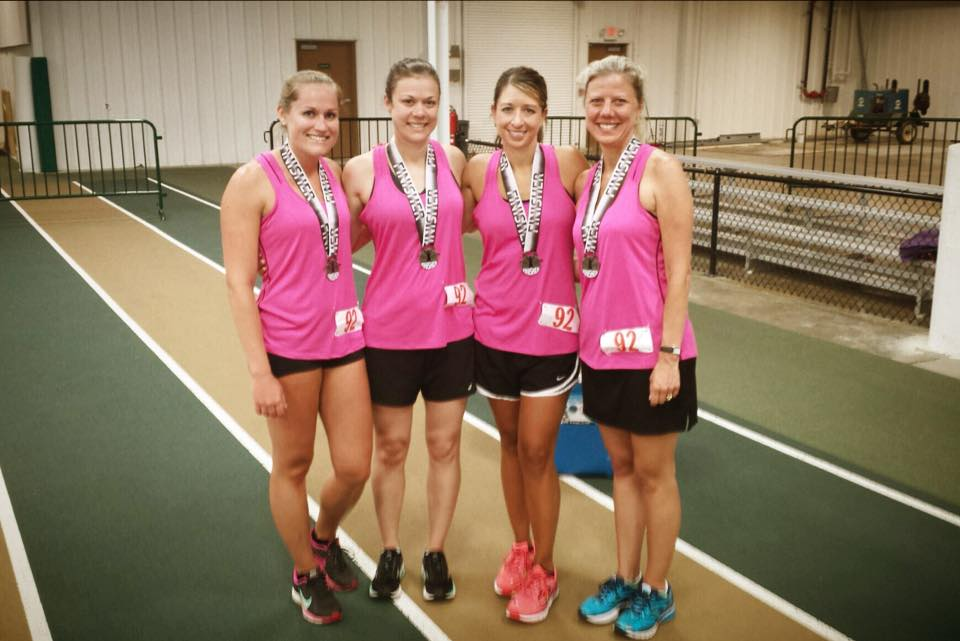 Indoor Insanity Marathon Relay '15