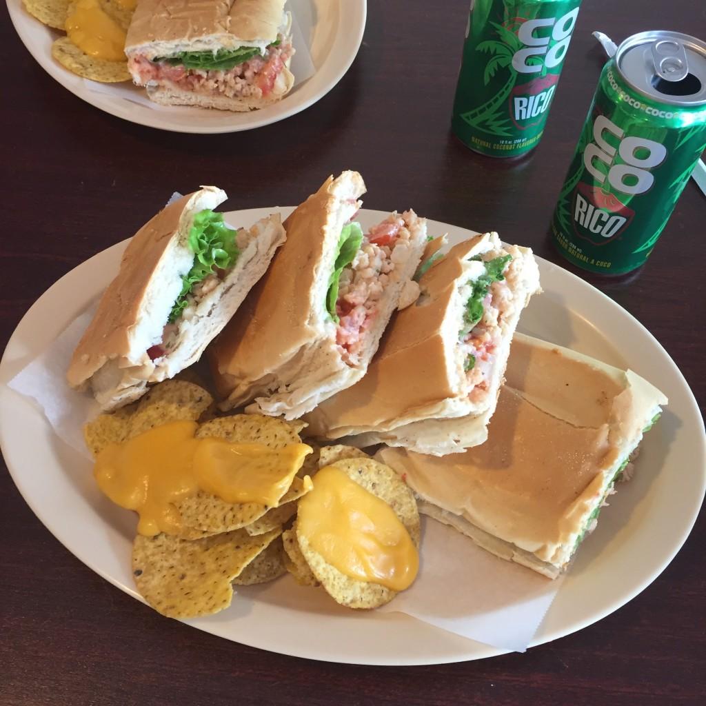 Sandwich de carrucho