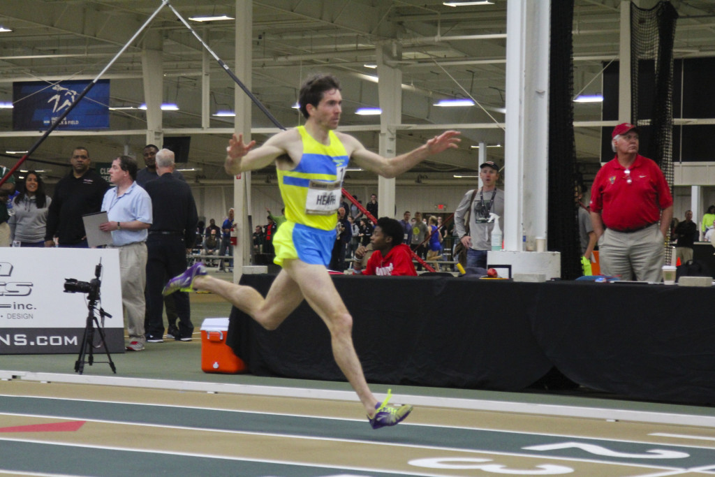 Garrett Heath for the win in 7:48.48