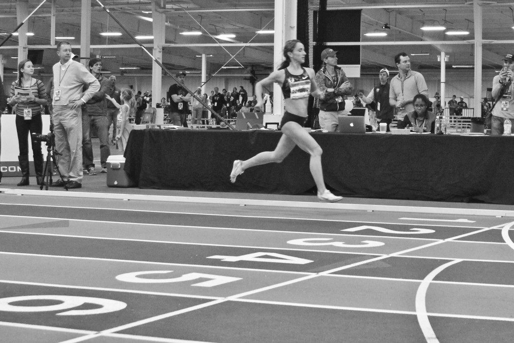 Shannon Rowbury was amazing! 4:26.01