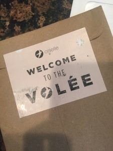 Becoming part of the Oiselle running team!