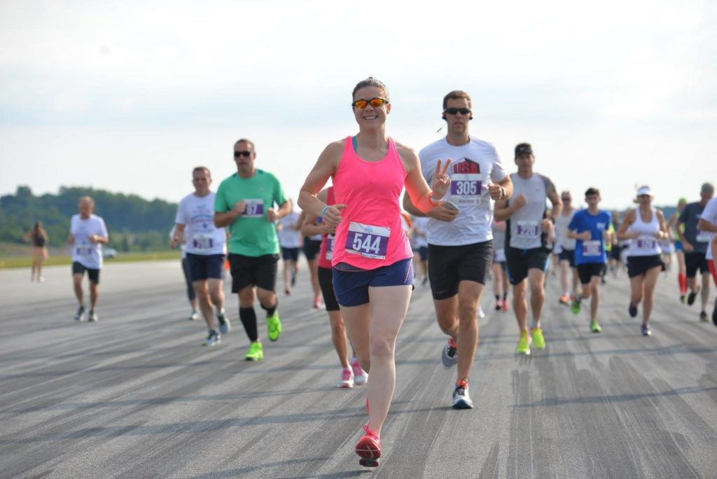 Photos courtesy of the PTI Run on the Runway Facebook page. Thank you!!