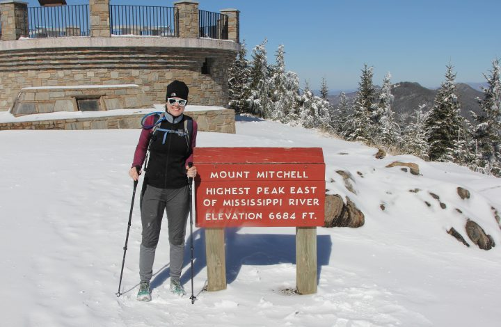 Hiking Mount Mitchell