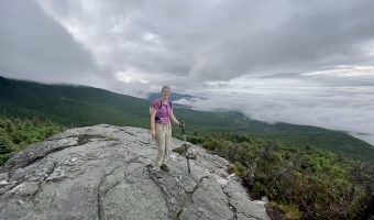 Hiking Mount Mansfield, Vermont