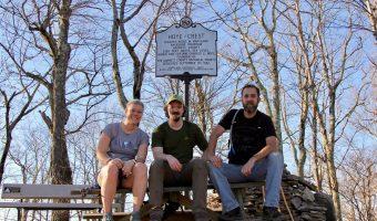 Hiking Backbone Mountain, Maryland
