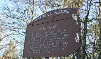 Hiking Mount Davis, Pennsylvania