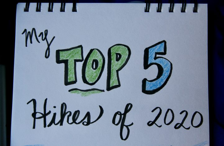 My Top 5 Hikes of 2020