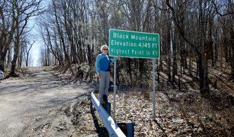 Hiking Black Mountain, KY