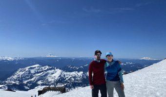 Mount Rainier Day 2: Camp Muir to Ingraham Flats